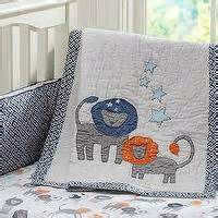 Lands End Crib Sheets by Organic Leaf Embroidered Duvet Cover Or Sham From Lands End
