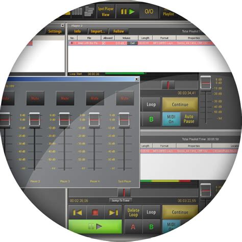 Multi Player Audio audified sceneflow classic multi player audio software