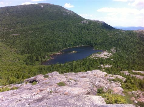 Cape Cod Hikes - dan hikes climbs tumbledown mountain in western maine over60hiker