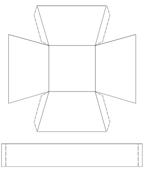 paper basket template paper basket template for www pixshark images
