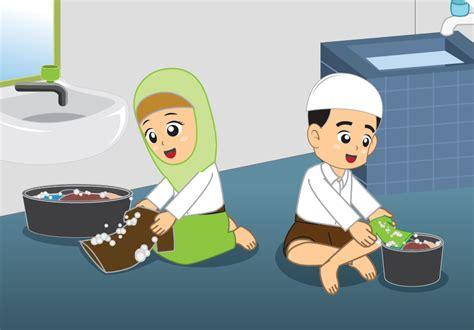 nasihat nabi  wajib mencuci pakaian  rumah