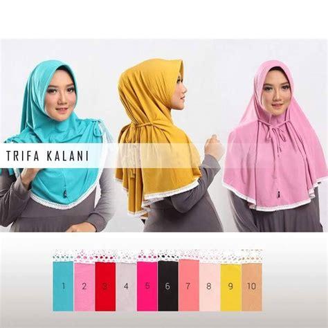 Kerudung Murah Murah Jilbab Instan jilbab instan laila cantik model terbaru murah
