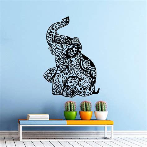 elephant room decor elephant wall decals bedroom indian vinyl decal sticker bohemian boho decor ebay