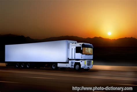 truck photopicture definition  photo dictionary