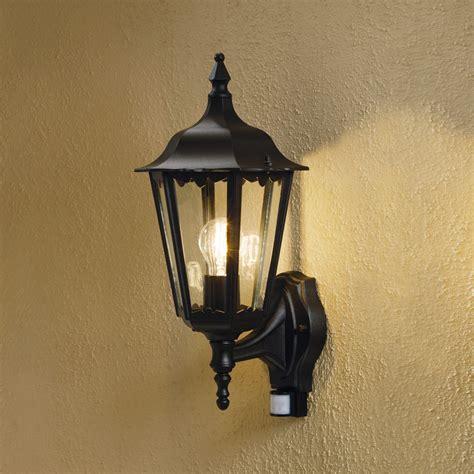 outside pir wall lights uk konstsmide 7236 750 firenze 1 light outdoor pir wall bracket