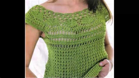 blusa verde calado perfecto a crochet   youtube