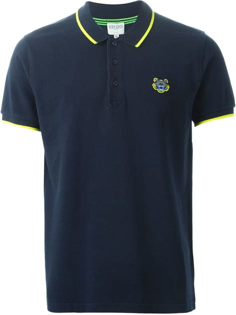 Polo Shirt Kenzo Premium kenzo tiger polo shirt in animal for tiger lyst
