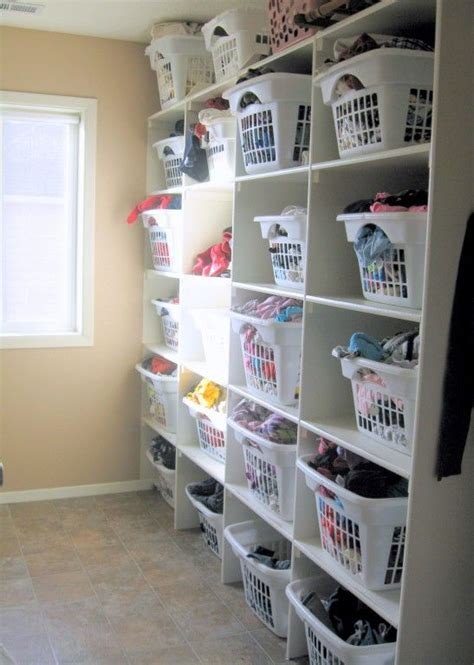 Family Closet Ideas by Best 25 Laundry Basket Organization Ideas On