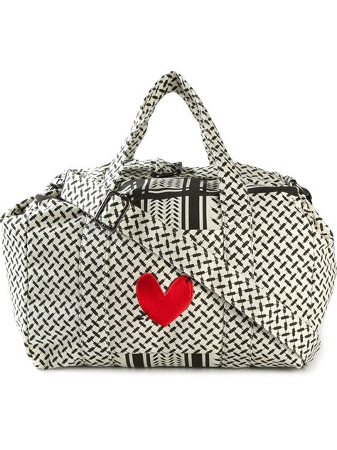 Lala Square lala berlin x hass jubil 228 umstasche muriel holdall