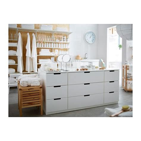 kommode nordli nordli kommode mit 9 schubladen wei 223 islands und and