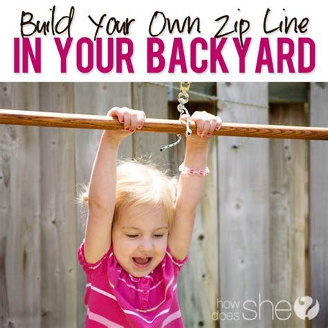 how to build a zip line in your backyard build your own backyard zip line 187 backyard and yard design for village
