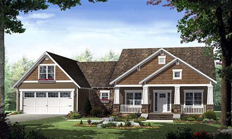 Single Story Craftsman House Plans Single Story Craftsman House Plans Home Style Craftsman