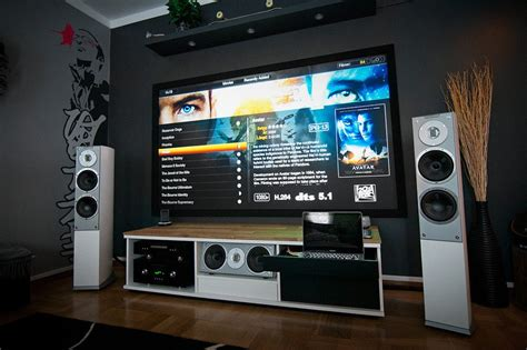 design home audio video system home theatre system a massive home entertainment setup