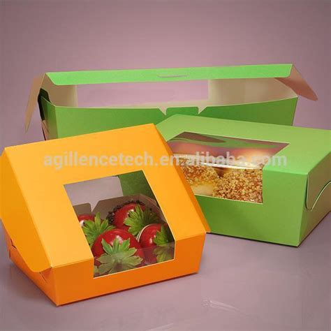 window cake boxes wholesale wholesale colored paper wrap around window bakery boxes