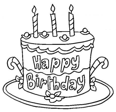 imagenes de feliz cumpleaños amiga en blanco y negro carteles y tarjetas de feliz cumplea 241 os para colorear