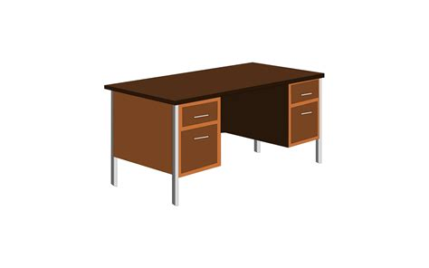 The Gallery For Gt Cartoon Desk Office Desk Clipart