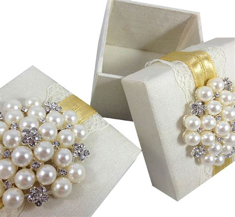 Wedding Favor Boxes by Ivory Silk Lace Wedding Favor Box Luxury Wedding