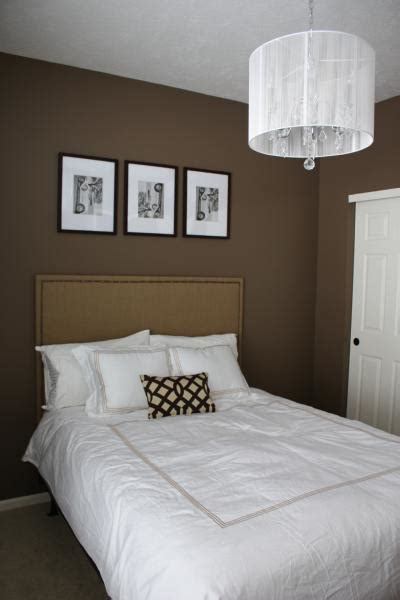 chocolate bedroom bedroom with brown walls contemporary bedroom behr