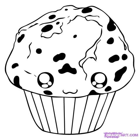 Muffin Coloring Sheet Coloring Pages Muffin Coloring Page