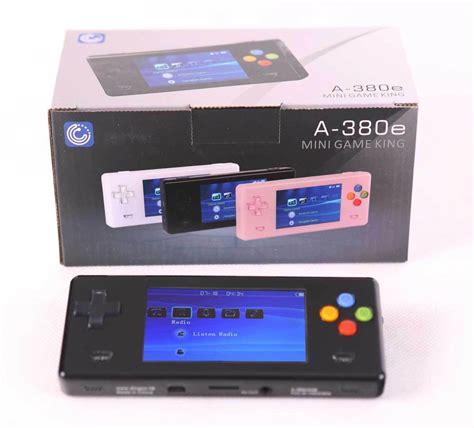 handheld emulator console black dingoo a380e handheld emulator console ebay