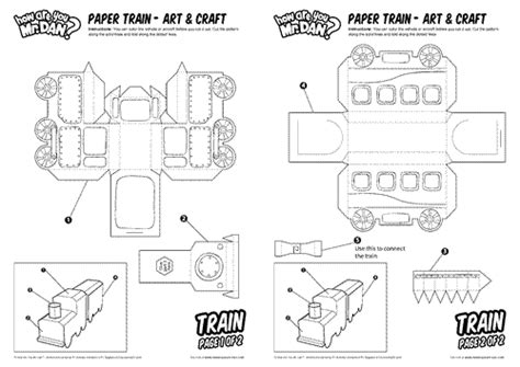 printable paper train template how are you mr dan learn english note by note