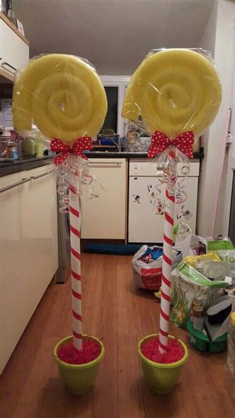 diy lollipop decorations 10 exciting decorations created from pool