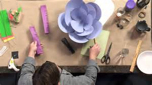How To Make Big Flowers Out Of Paper - how to make paper flowers