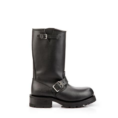 black biker booties buffalo leather biker booties in black buy online in