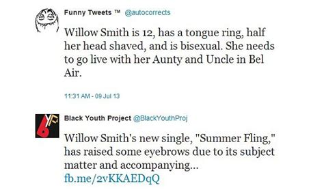 Comments On Smiths by Willow Smith S Summer Fling Stirs Up