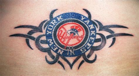 tribal yankees tattoo ny yankees with tribal by furious247 on deviantart