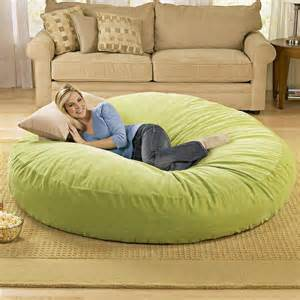 oversized pillows for bed giant bean bag chair lounger alldaychic