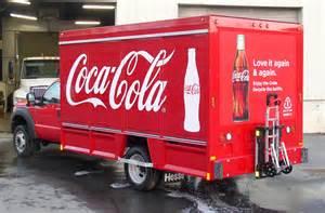 coca cola truck file coca cola truck with truck sentry system jpg