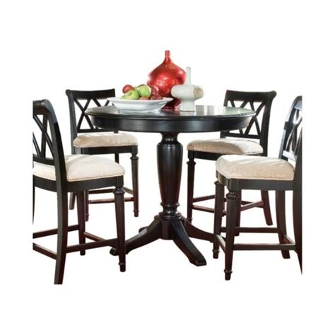 Counter Table Sets by American Drew Camden 5 Counter Height Pedestal