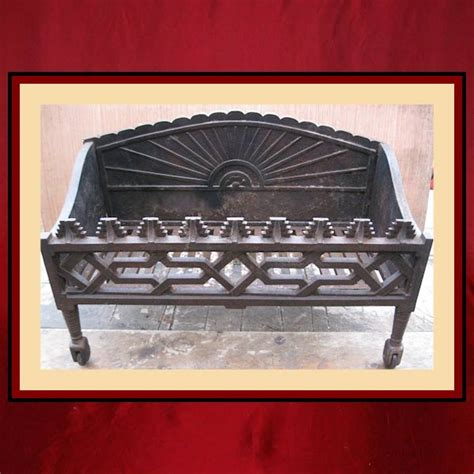 vintage ornate decorative grate northshore