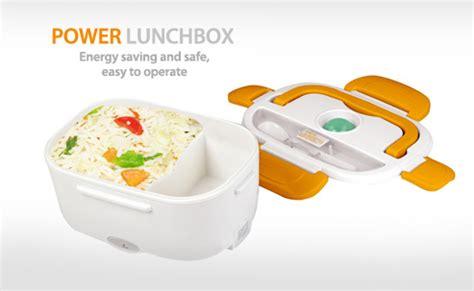 jual power lunch box kotak makan unik elektronik elektrik dinner breakfast bekal anak sekolah