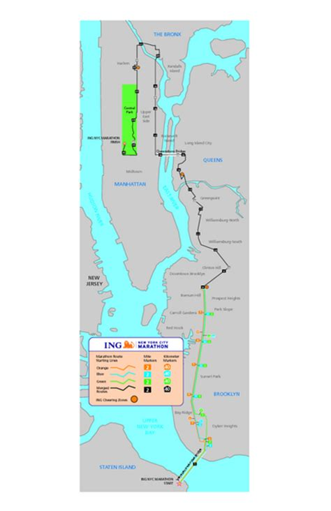 nyc marathon map world top trends nyc marathon course map photos