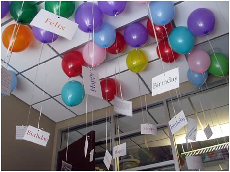 Awesome  Ee  Birthday Ee   Surprise Office Filled With Balloons