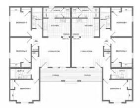 Floor Plans For Duplexes 3 Bedroom by Duplex Plans 3 Bedroom