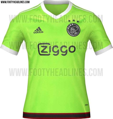Kaos Tottenham Hotspur Logo ajax 2015 16 away camisetas de futbol