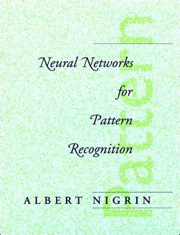 pattern recognition video lectures mit neural networks for pattern recognition the mit press