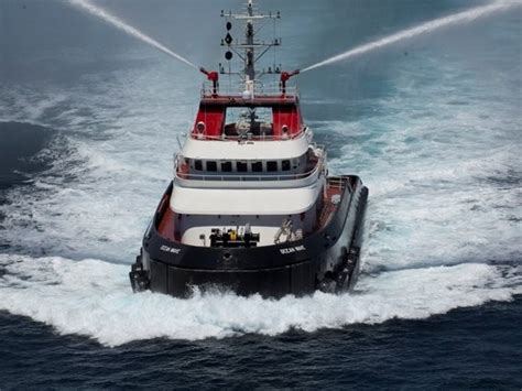 fire boat specifications crowley christens first ocean class tugs gcaptain