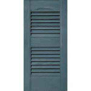 shutters home depot builders edge 12 in x 25 in louvered vinyl exterior