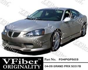 2005 Pontiac Grand Prix Kits 2004 2008 Pontiac Grand Prix 4 Dr So3 Style Kit