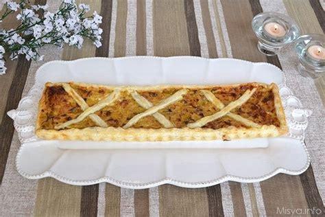 ricette di cucina di misya torta salata con porri e pancetta ricetta cucina