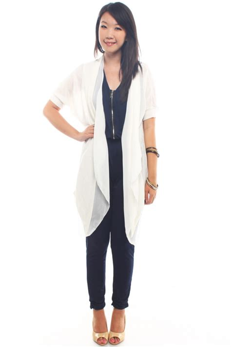 draped cardigans draped long cardigan the label junkie