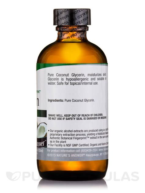 Shelf Of Vegetable Glycerin by Vegetable Glycerine 4 Fl Oz