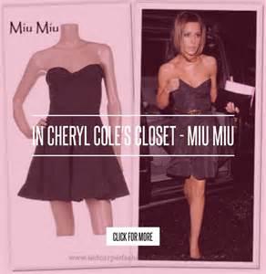 In Cheryl Coles Closet Miu Miu in cheryl cole s closet miu miu