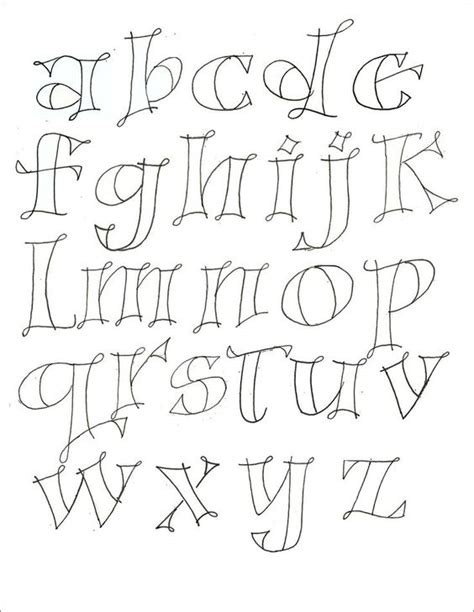 pattern writing font hand lettering for journaling google search hand