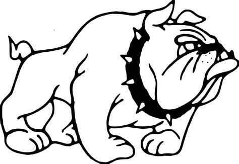 bulldogs coloring page bulldog coloring pages 3407 600 215 575 free printable