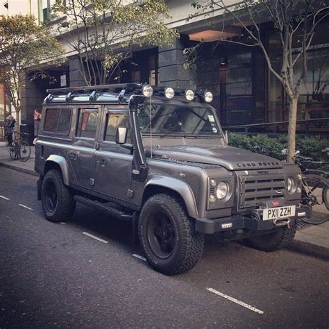 all black range rover all black land rover defender 110 4x4 pinterest